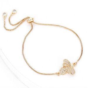 Crystal Bumble Bee Bracelet
